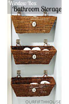 Cottage Bathroom Ideas | 12 DIY Bathroom Ideas | Home and Garden | CraftGossip.com
