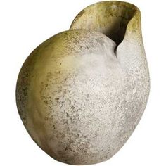 Seed pod planter. What a unique way to show off your favorite plant. As the plant grows up and out of the seed pod.A interesting an eye-catching piece. This seed pod planter comes in several different sizes. Made of durable fiberglass and will withstand the outdoor weather year round. Several finish options are available for this piece.