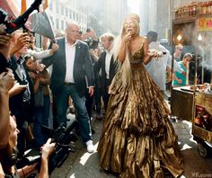 Lady Gaga photographed by Annie Leibovitz | A Year in Vanity Fair Photography