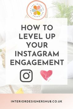 In our latest blog we take a look at how Interior Designers can maximise engagement on Instagram. Engagement is the first part of the Know... Like... Trust... process we teach Interior Designers to grow their client base. #interiordesignershub Interior Design Resources, Interior Design Business, Instagram Layouts, Business Advice, How To Know, Trust, Designers, Training, Base