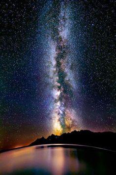 the amazing Milky Way