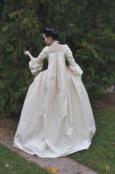 Before the Automobile: 1760's robe à la Française, 2011