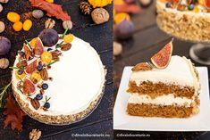 TORT DE MORCOVI CU NUCI, MASCARPONE SI CIOCOLATA ALBA | Diva in bucatarie Vanilla Cake, Tiramisu, Homemade, Ethnic Recipes, Desserts, Food, Mascarpone, Tailgate Desserts, Deserts