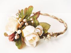 Hey, I found this really awesome Etsy listing at https://www.etsy.com/listing/200163911/flower-crown-rustic-wedding-hair