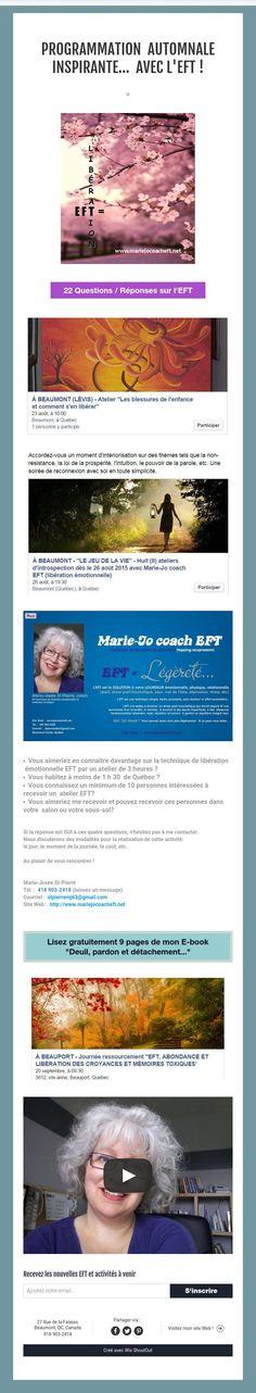 programmationautomnale inspirante... avec L'EFT !