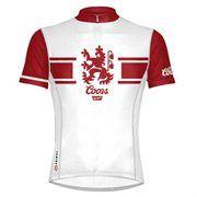 a85725c00 Primal Wear Coors Beer Vintage Design Cycling Jersey Men s Short Sleeve  with DeFeet Socks