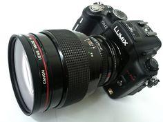 Canon FD Lens 85mm F/1.2 on GH2