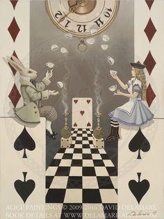 "House of Cards No. 4 - ""Alice's Adventures in Wonderland"" by David Delamare."