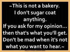 Not Sugar Coated