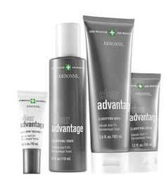 Includes Clear Advantage Clarifying Wash, Clarifying Toner, Clarifying Lotion and Acne Spot Treatment.   #Acne #skincare