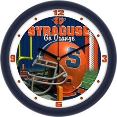 Texas El Paso Miners - Football Helmet Wall ClockFootball Helmet Wall Clock by Suntime The helmet and field wall clock is designed from the ground up, built in Syracuse Orangemen, Kentucky Colonel, Syracuse University, Football Helmets, Clock, Glass, Wall, Products, Texas