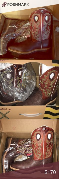 Men's Twisted X steeled toed boots Men's Twisted X steeled toed boots 14 EE Twisted X Shoes Cowboy & Western Boots