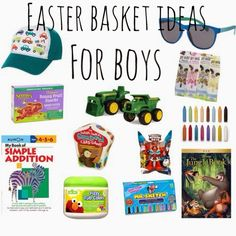 Easter basket ideas for toddlers basket ideas easter baskets favorite easter basket ideas and easter books for kids negle Image collections