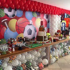 Festa Esportes. Pic via @paulapapaleo Seleção #encontrandoideias #blogencontrandoideias