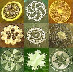 beautiful crop circles