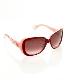 Take a look at this Rose Fierce Sunglasses by Betsey Johnson on #zulily today!