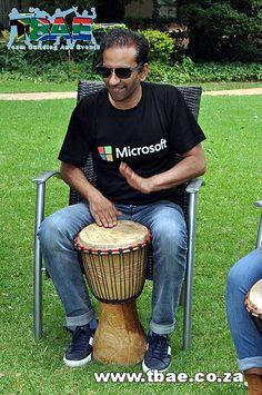Microsoft SA Drumming team building Magaliesburg...