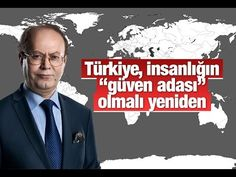 """Yusuf Kaplan   Türkiye, insanlığın """"güven adası"""" olmalı yeniden"""
