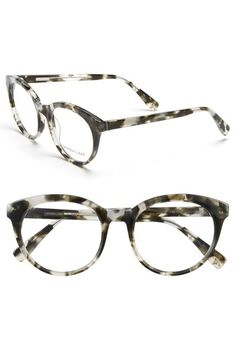89398504d50 DEREK LAM 51mm Optical Glasses.  dereklam   Round Tortoiseshell Glasses