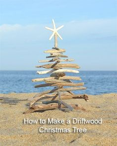 Make a Driftwood Christmas Tree Tutorial