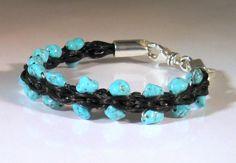 HORSEHAIR BRACELET | Home Jewelry Bracelets Equestrian Horsehair Honeycomb Braid Bracelet ...