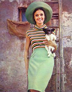 Cool mint green summer fashion
