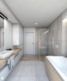House No. 7 on Behance Bathroom Interior, Modern Bathroom, Bathroom Inspiration, Bathroom Ideas, Home Organization, Home Furniture, Sweet Home, Bathtub, Architecture