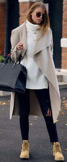 Josefin Ekstroms Mustard Suede Booties Fall Inspo #Fashionistas