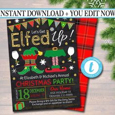 Holiday Party Themes, Christmas Party Invitations, Holiday Parties, Holiday Fun, Holiday Ideas, Winter Parties, Holiday Foods, Festive, Wedding Invitations