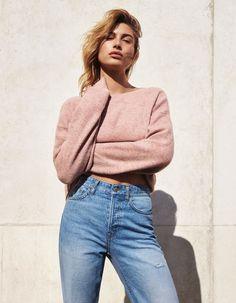 Hailey Baldwin Does Her Best Claudia Schiffer in H&M's Denim Days Campaign