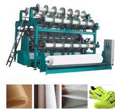 DX-RD6 DPLM12/3 Spacer Fabric Double Needle Bar Raschel Warp Knitting Machine for air mesh