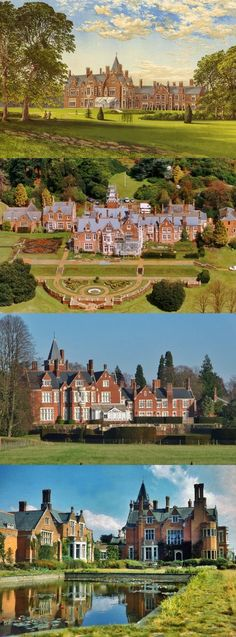 Bagshot Park, Surrey, is a large Tudor-Gothic house designed by Benjamin Ferrey in 1877 for Prince Arthur, Duke of Connaught. Since 1999 it has been the official residence of the Earl and Countess of Wessex.