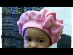 Passo a Passo Boina para bebê  Do RN até 2 anos  DIY  By Patrícia Yida