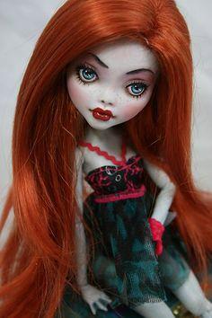 Monster High Lagoona Blue OOAK Repaint Rose   eBay