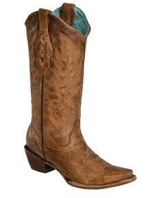 Corral Vintage Leather Cowgirl Boots - Snip Toe - LOVE