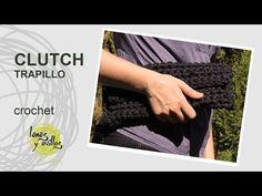 Tutorial Clutch o Bolso Fácil Principiantes a Crochet o Ganchillo en Español - YouTube