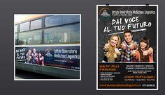 Concept; Slogan e grafica per Campagna iscrizioni 2014 per l'Istituto Universitario di Mediazione Linguistica