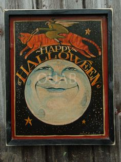 Happy Halloween sign...