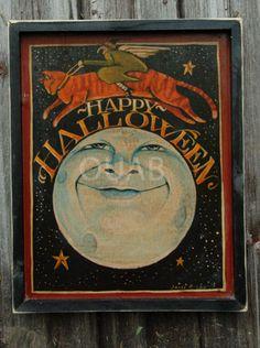 Happy Halloween sign...