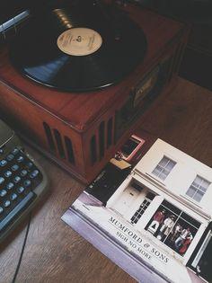Mumford & Sons on vinyl.