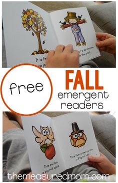 Free Fall sight word books