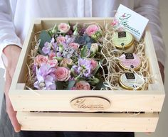 Beautiful Flower Gift Box