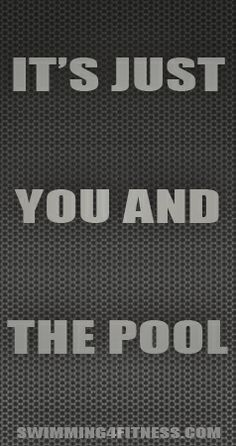 """""""It's just you and the pool"""""""