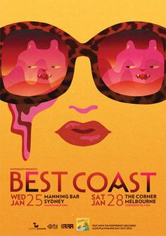 Best Coast at Manning Bar and The Corner, by Webuyyourkids