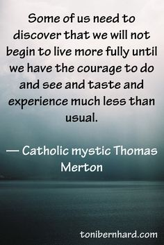 Catholic mystic Thomas Merton