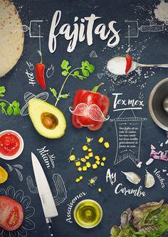 Tuto #Photoshop - Design culinaire sur le thème du #Mexique