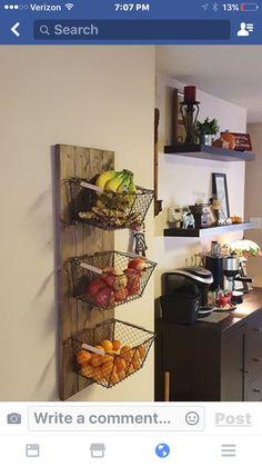 Kitchen basket idea