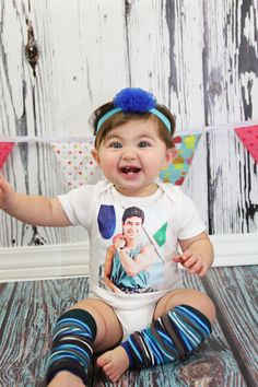 Saved by the Bell - Slater - Baby ONESIE - Toddler Tee also available. $18.00, via Etsy.