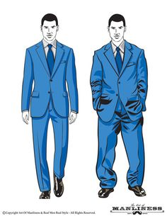 How Should a Suit Fit? Your Easy-to-Follow Visual Guide (via @Art of Manliness)