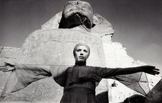 Marianne Faithfull on the set of Lucifer Rising directed by Kenneth Anger, 1971